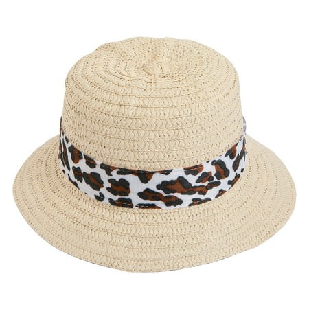 Fun Express - Child Pith Helmet W/animal Print Brown 1 - Apparel Accessories - Hats - Straw Hats - 1 Piece - Kids Pith Helmet