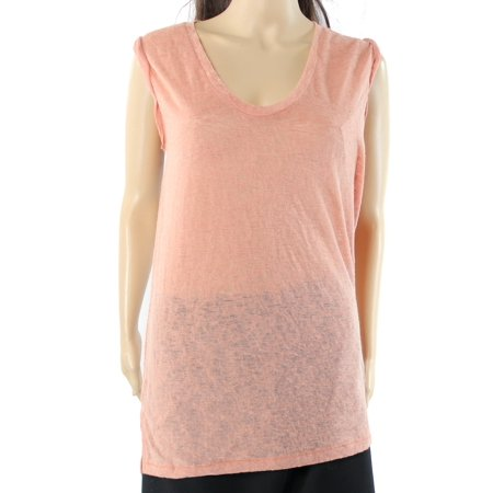 Rubbish Womens Small V-Neck Burnout Slub Knit Top $26