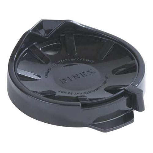 CARLISLE DINEX DX115603 Replacement Lid,1-7/64in.H,Onyx,PK12 G0170016
