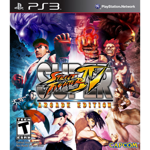 Super Street Fighter IV: Arcade Edition (PS3)