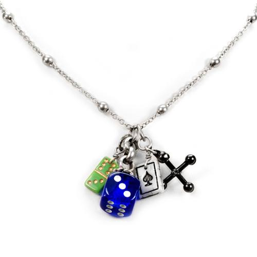 probability of rolling 3 dices pendants for jewelry
