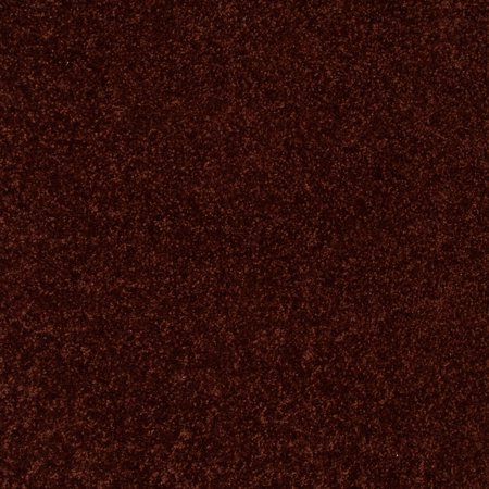 Home Queen Solid Color Chocolate 4' Square - Area Rug