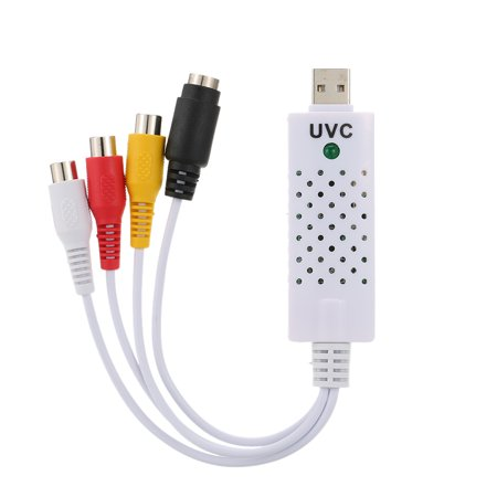 USB 2.0 DVR Video Audio Camera CCTV Capture Recorder Adapter Card for MAC for PC (The Best Screen Recorder For Mac)