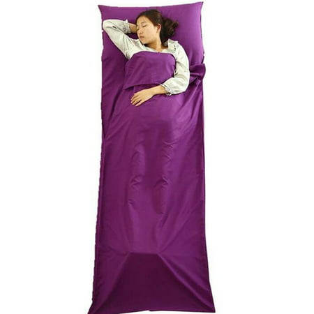 Ultra Light Sleeping Bag With Built In Pillow For Camping Travelling Outdoor