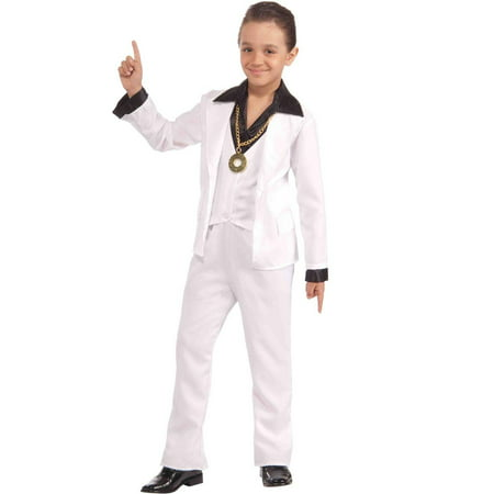 Disco Fever Kids 70s Costume (70s Halloween Accessories)