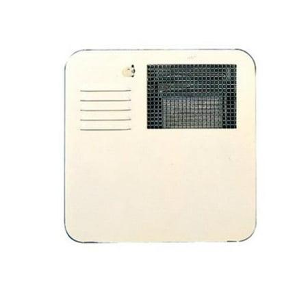 6 gal Radius Water Heater Access Door - Colonial White - image 1 de 1
