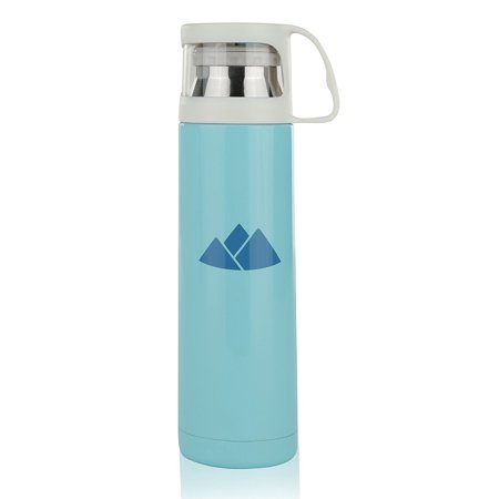 Wealers 500ml Stainless Steel Thermos Water Bottle with a Handle Vacuum Cup for Hot and Cold Drinks Coffee Thermal Mug With Neoprene Bag (Cosori 24 Watt Stainless Steel Coffee Mug Warmer)
