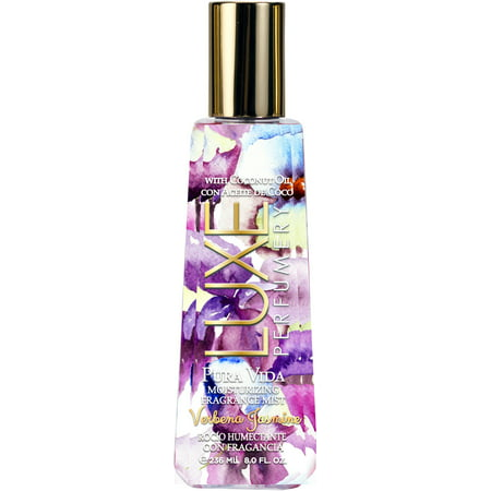 Pura Vida Verbena Jasmine by Luxe Perfumery, Moisturizing Fragrance Mist for Women, 8.0 oz.