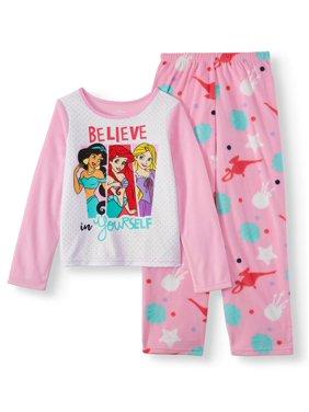 Girls' Disney Princess 2PC Pajama Set (Little Girl & Big Girl)