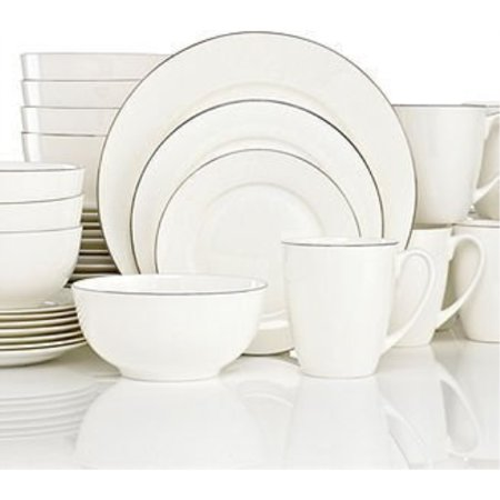 Gorham Breckenridge Platinum 40 Piece Dinnerware Set