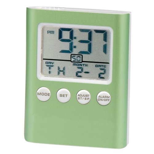 Chass C-Time LCD Travel Alarm Clock