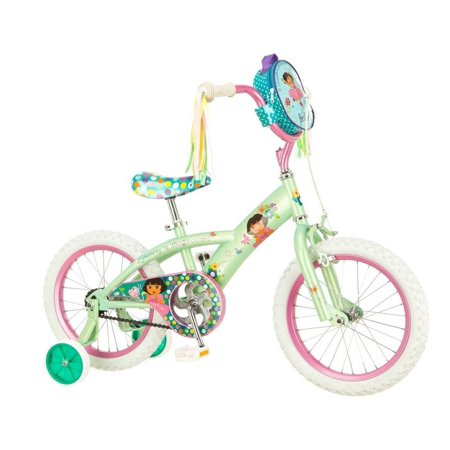 Dora R7619 S Sidewalk Bike Yellow And Pink 16 Inch