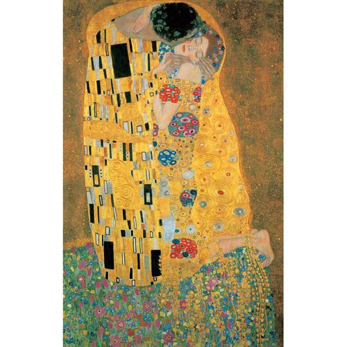 Klimt The Kiss Metallic Jigsaw Puzzle, 1000 Pieces