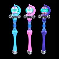 """18"""" Light-Up Spinning Princess Wand Pretend Play Toy Products, Measurement: H: 18 By Rhode Island Novelty"""