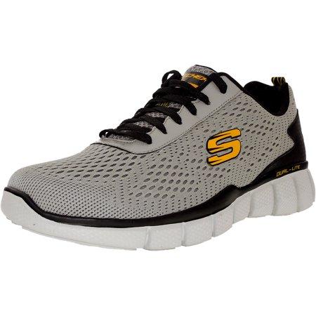 Kundschaft zuerst elegante Schuhe heiß seeling original Skechers Men's Equalizer 2.0 Settle The Score Gray/Yellow Ankle-High Cross  Trainer Shoe - 10M