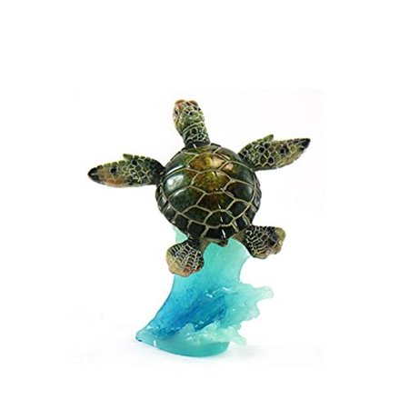 unison gifts yxf-185 5 in. green sea turtle on