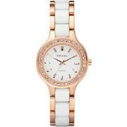 Women's Chambers NY8141 Rose Gold Ceramic Quartz Watch
