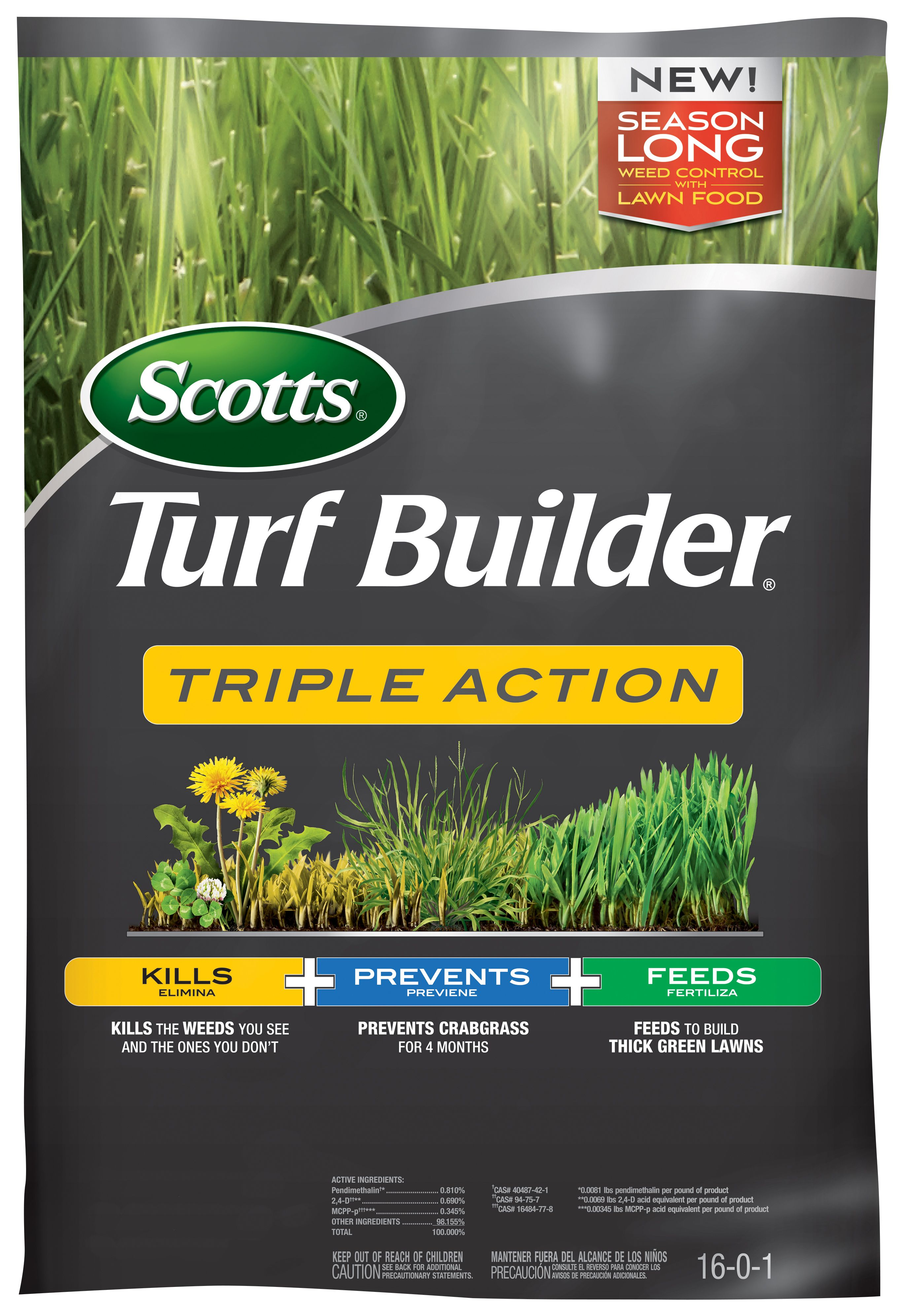 scotts triple action turf builder