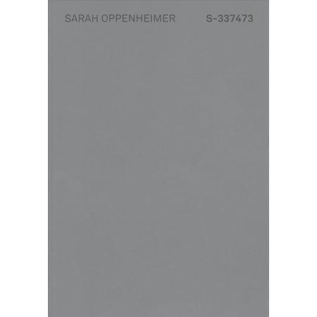 Sarah Oppenheimer  S 337473