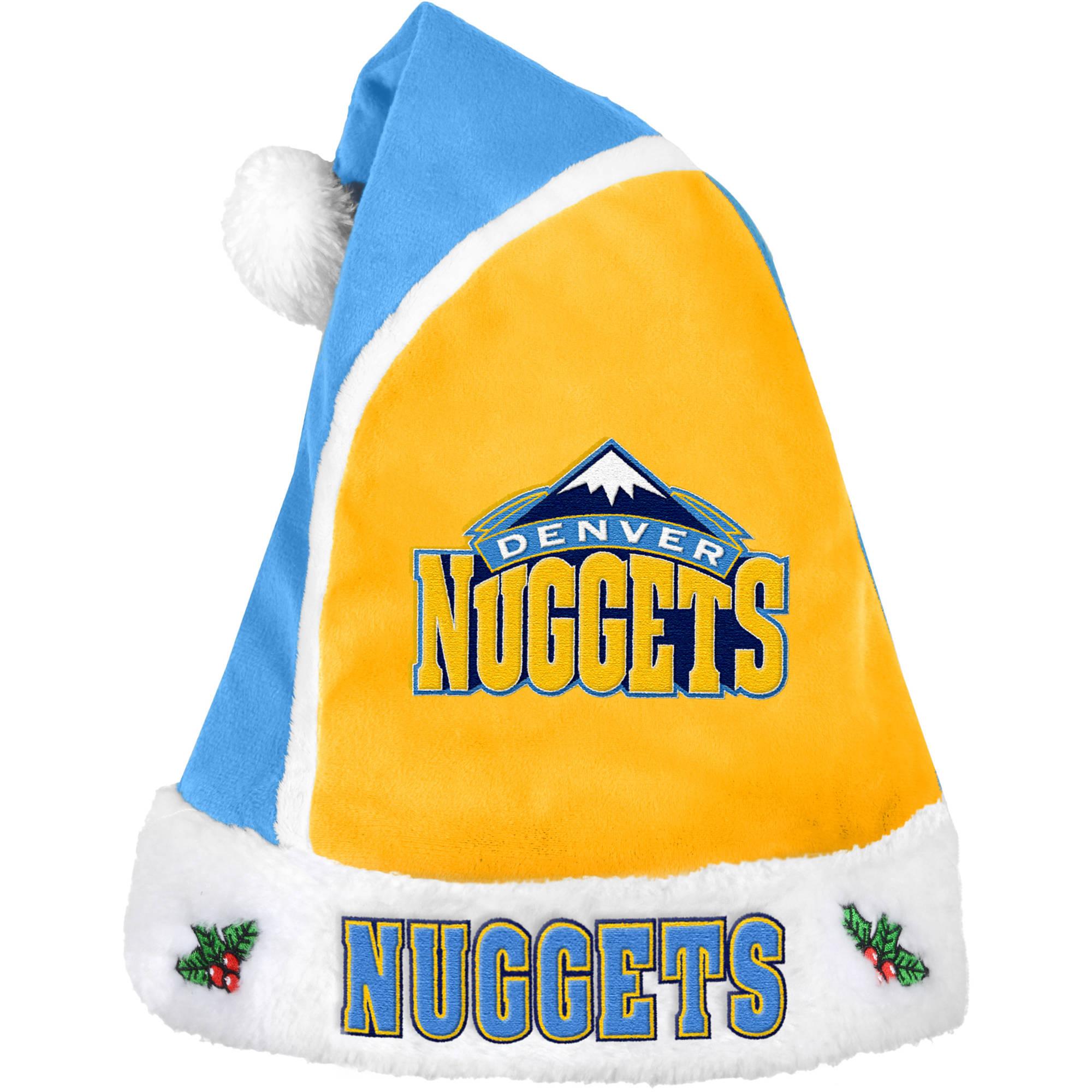 Forever Collectibles NBA 2015 Santa Hat, Denver Nuggets
