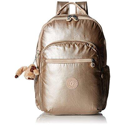 seoul l metallic backpack backpack, sparkly gold, one (Golf Backpack)