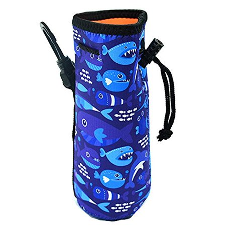 a941a7574a99 Orchidtent Water Bottle Sleeve, Protable Neoprene Insulated Water ...