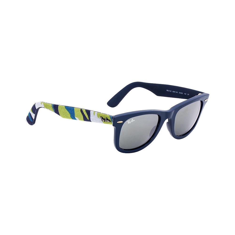 028de7a2f3d Ray-Ban - Ray-Ban Wayfarer Acetate Frame Silver Mirror Lens Unisex Sunglasses  RB2140 - Walmart.com