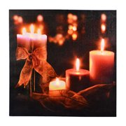 Fantastic Craft LED Plaque Flameless Candle