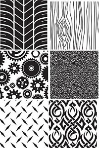 Autumn Carpenter Designs Impression Mat Set - Men's Designs