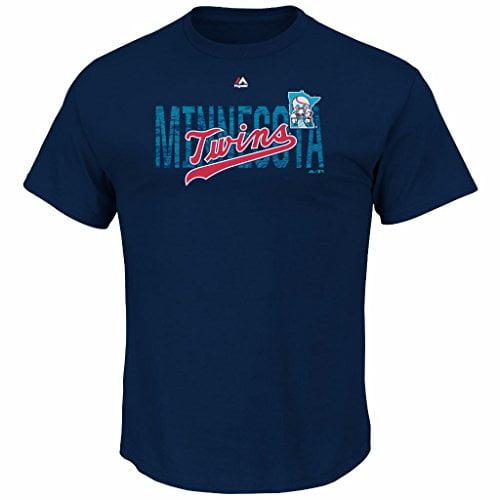MLB Men's Last Rally Cooperstown T-shirt (S, Minnesota Twins)
