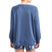 Disney Women s and Women s Plus Cinderella Pajama Sweatshirt Image ... af8de9f87