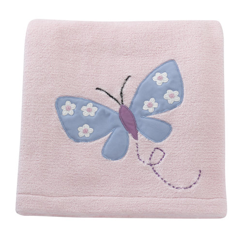 Bedtime Originals Butterfly Meadow Collection Blanket