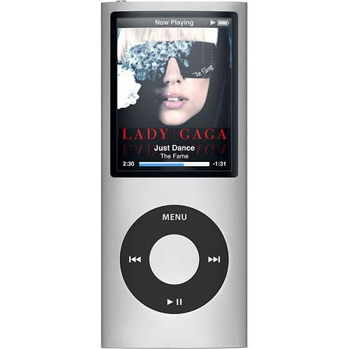 Apple iPod Nano 4th Generation 8GB Silver,  Refurbished with New Battery!