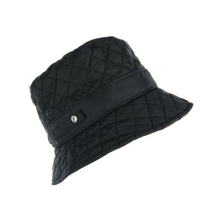 67bd1d587 Women's Packable Quilted Rain Bucket Hat