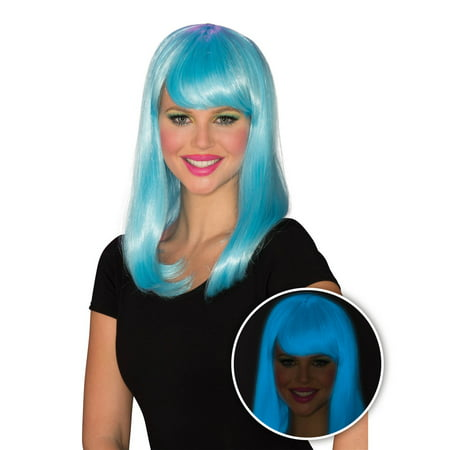 Womens Blue Glow Babe Halloween Costume Accessory - Glow Costumes