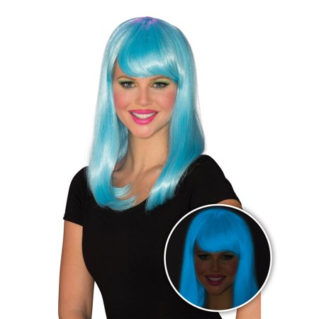 Womens Blue Glow Babe Halloween Costume Accessory - Glow Run Costume Ideas
