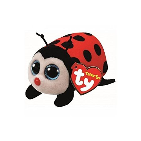Ladybug Hugs (Teeny Ty Beanie Boo Trixy - Lady Bug Plush )
