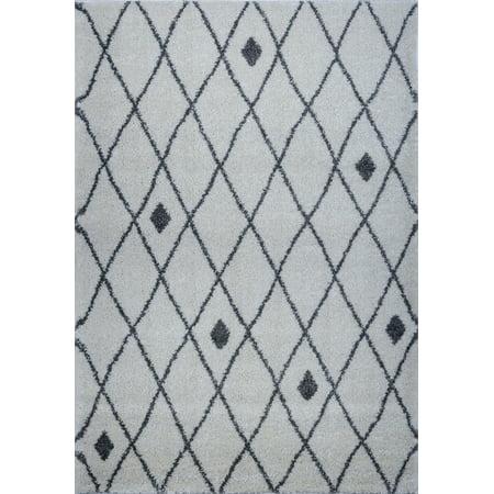 Ladole Rugs Trellis-Dots Pattern Soft