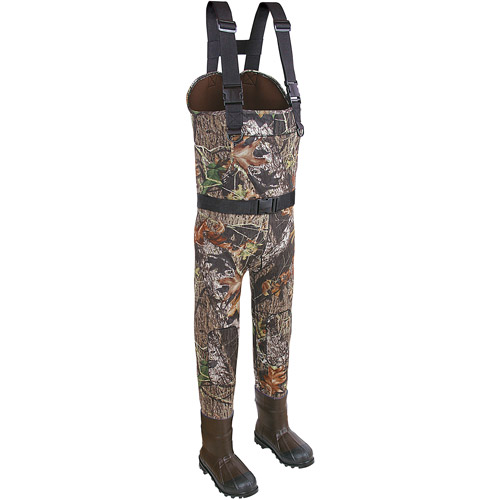 Allen Stretch Poly Jersey Fabric Over Neoprene Chest Wader, Bootfoot-Stout