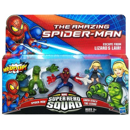 Spider-Man Super Hero Squad Escape From Lizard