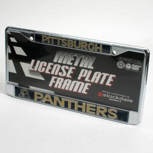 Pittsburgh Panthers License Plate Frame - Chrome