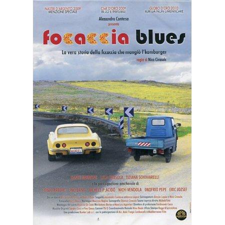 Focaccia Blues [ NON-USA FORMAT, PAL, Reg.0 Import - Italy ] (Focaccia Italian)