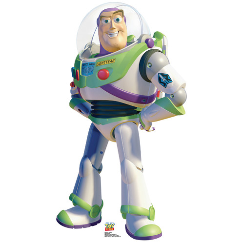 Advanced Graphics Disney Buzz Lightyear Toy Story Cardboard Stand Up