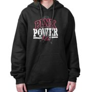 Pray For The Cure Pink Power Shirt | Cancer Awareness Ribbon Hoodie Sweatshirt