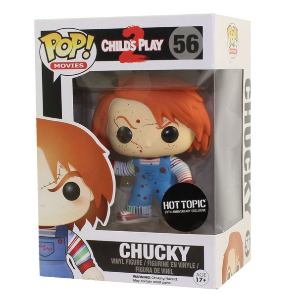 Funko Pop Movies Child S Play 2 Vinyl Figure Chucky Bloody Exclusive Walmart Com Walmart Com