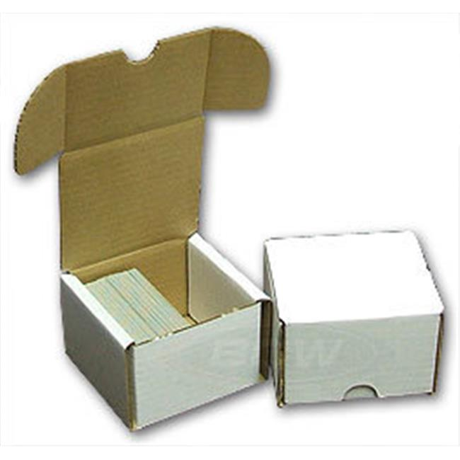 Star Packaging BX-200-B Cardboard - 200 Count Storage Box Bundle of 50