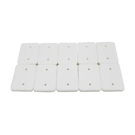 EcoGecko 10 Cotton Refill Pads for Model 75201 Car Scenter Electric Diffuser