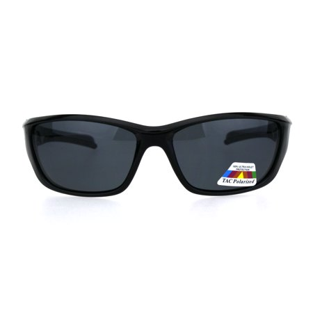 Mens TAC Polarized Lens Classic Warp Sport Performance Plastic Sunglasses All (Try Tac Sunglasses)