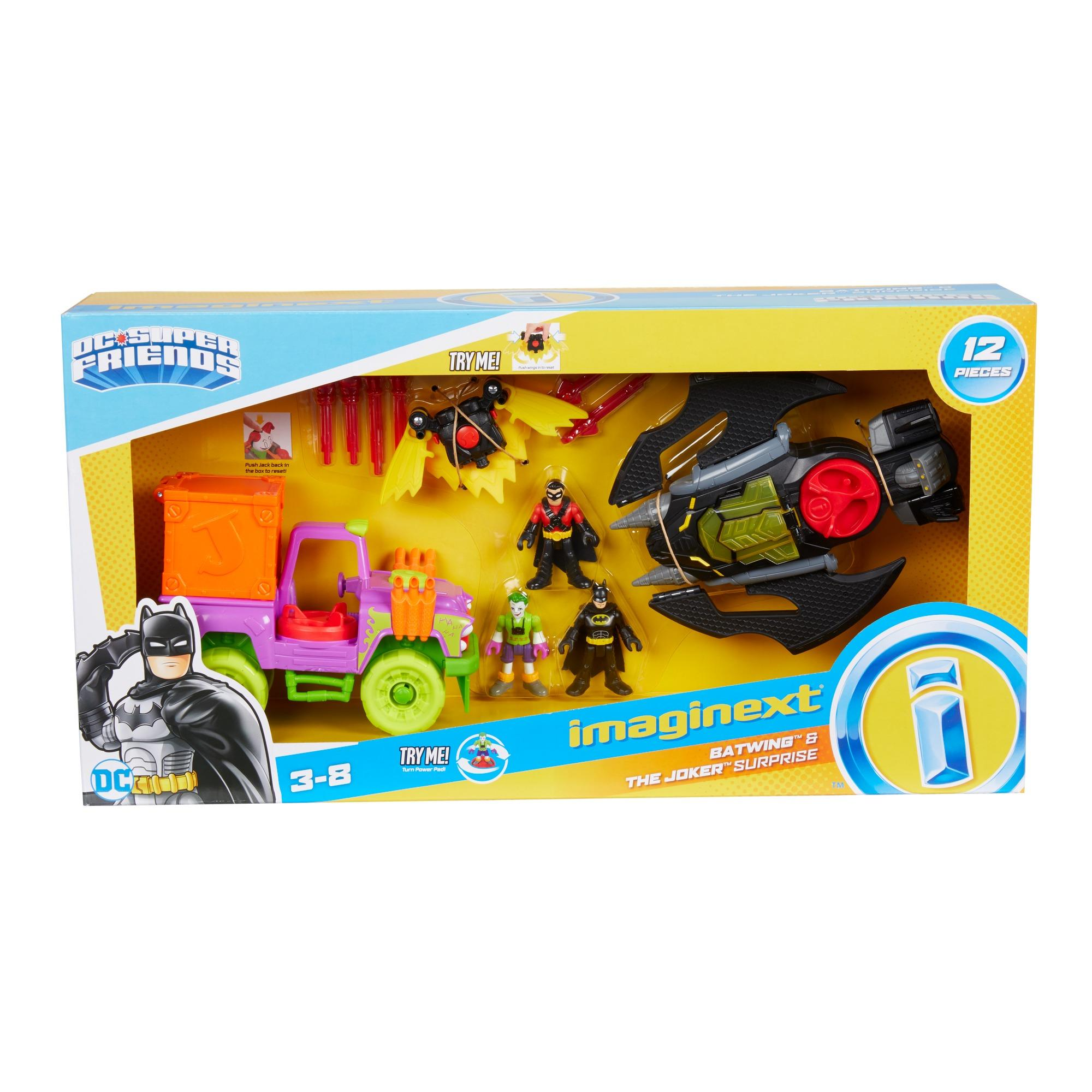 Imaginext DC Super Friends Batwing & The Joker Surprise