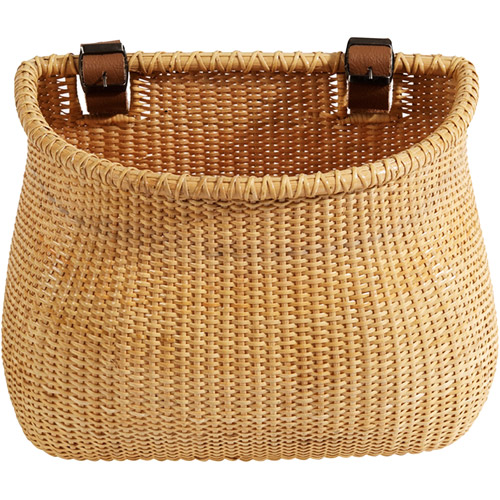 Nantucket Bicycle Basket Co. Lightship Collection Bicycle Basket, Natural
